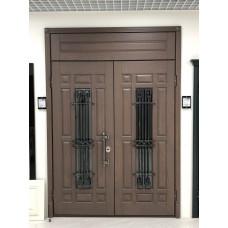 Дверь подъездная 1200 мм х 2500мм