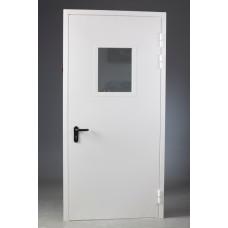 Дверь противопожарная 1070мм *2070мм со стеклопакетом