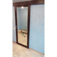 Параллельно-сдвижная зеркальная дверь (дверь купе).