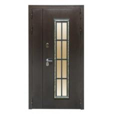 Входная дверь Агора  со стеклопакетом размер 2050 Х 1100
