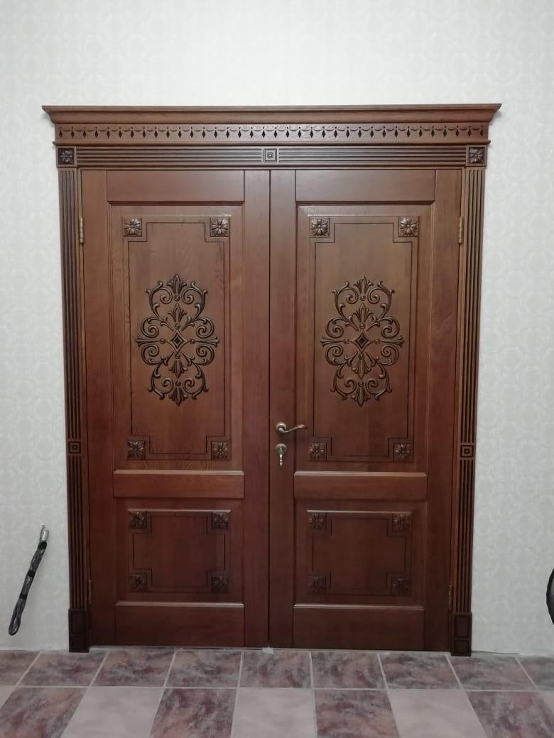 Двери натеральный шпон